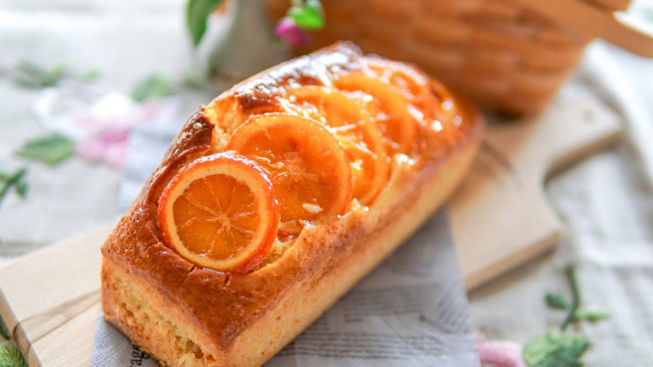 オレンジ パウンドケーキ ホットケーキミックス